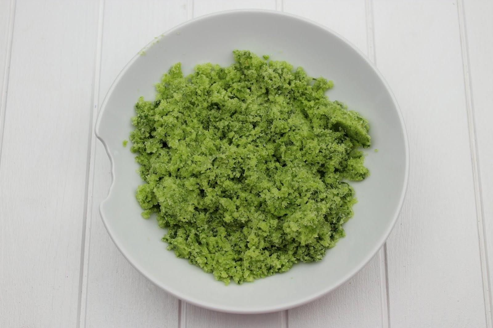 Rezept: Bärlauch Salz ganz einfach selber machen - super Geschenkidee aus der Küche