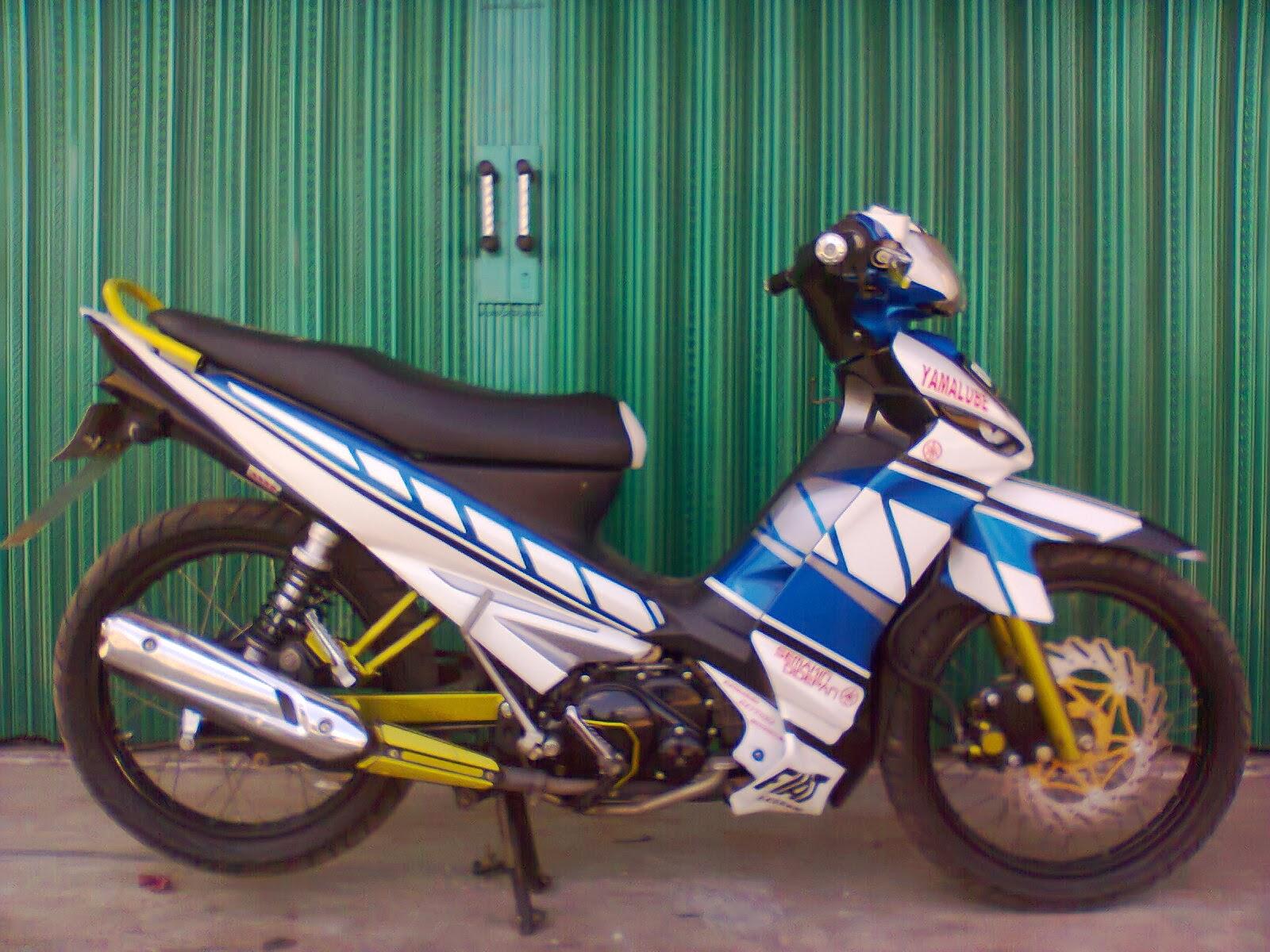 Gambar Modif Yamaha Vega ZR