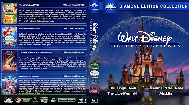 The Walt Disney Collection Bluray Cover