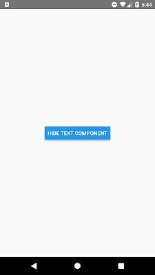 Hide Show View Text Component in React Native on button Click
