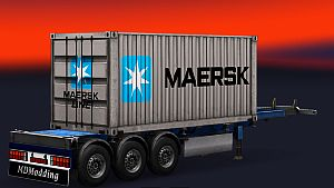 MAERSK Container standalone
