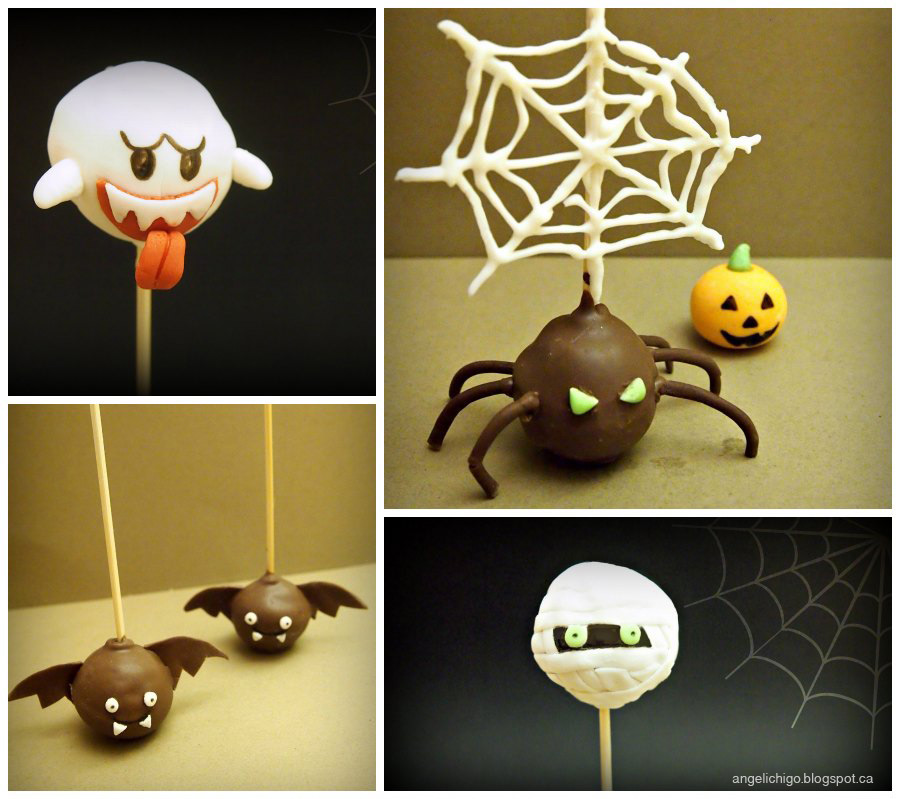 Trick or Cake Pops for Halloween?