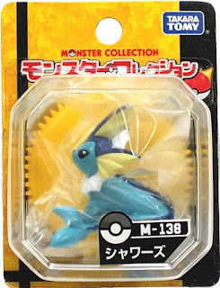 Vaporeon figure Takara Tomy Monster Collection M series