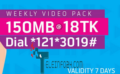GP 150mb 40 mb video pack
