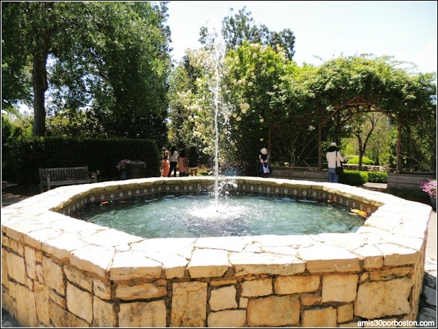 Dallas Arboretum & Botanical Garden: Octagonal Fountain