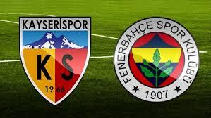 Kayserispor - Fenerbahçe Canli Maç İzle 02 Nisan 2018
