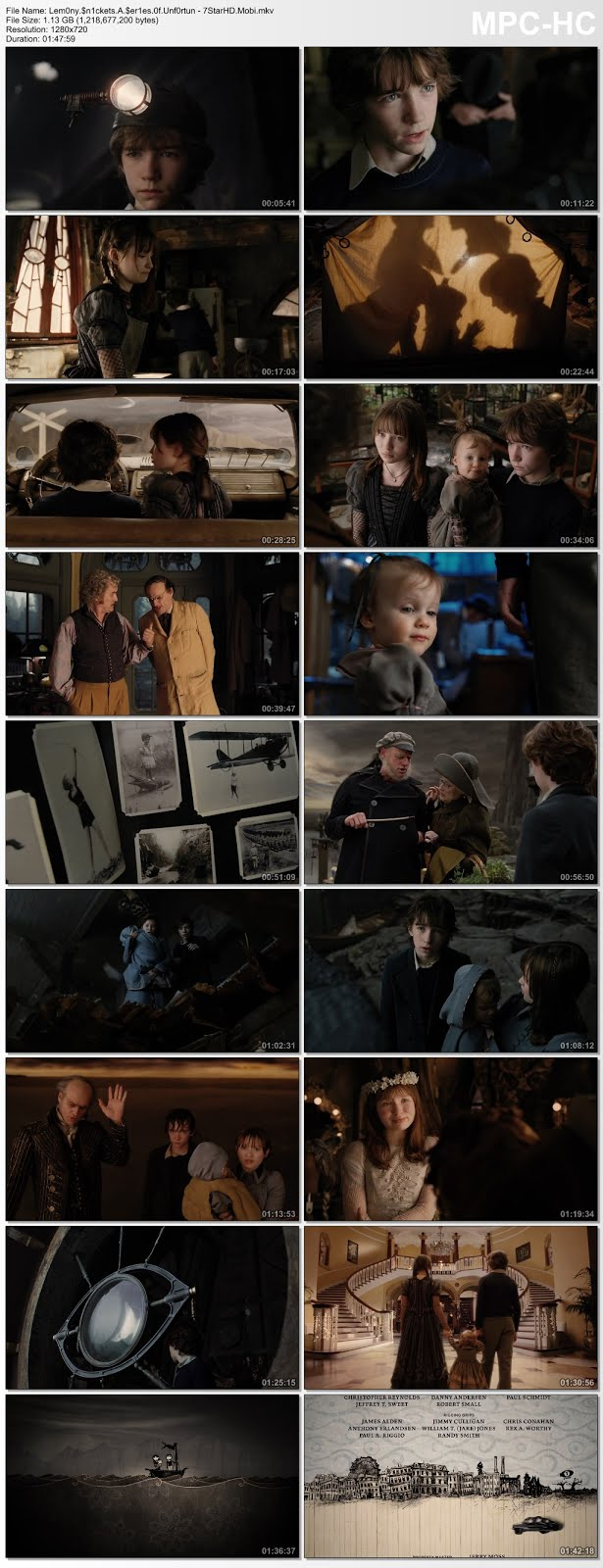 Screen Shot Of A Series of Unfortunate Events 2004 300MB Full Movie Hindi Dubbed Free Download 720P BRRip HEVC