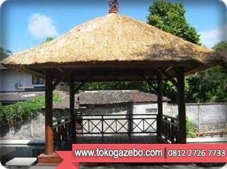 Gazebo Glugu Sirap Kolam Jepara