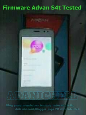 Firmware Advan S4t Tested