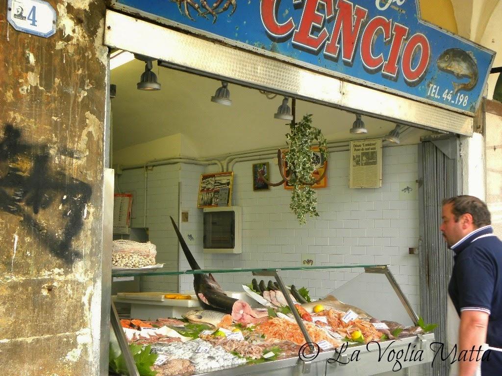 Padova Piazza delle erbe pescheria