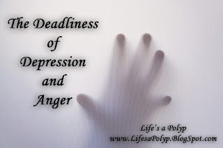 depression and anger life's a polyp