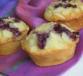 Cara Membuat Kue Almond Blueberry Yang Mudah