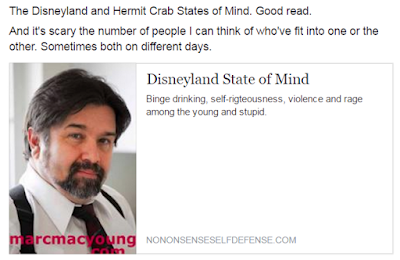 The Disneyland and Hermit Crab States of Mind