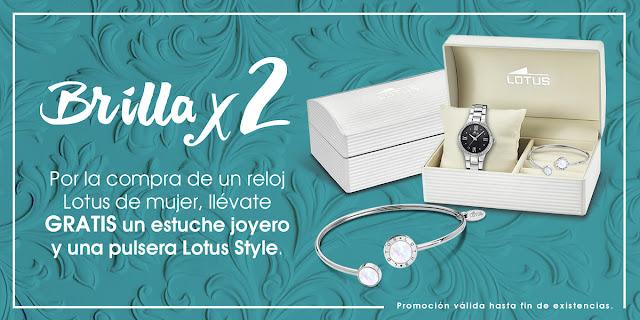 3c18c770b053 Estes navidades comprando un reloj Lotus de señora en Joyeria Zafir te  enviamos una pulsera Lotus style como la de la imagen de regalo