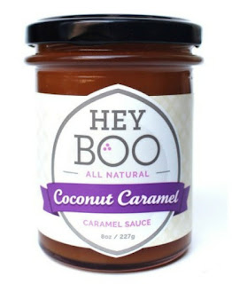 Jar of Hey Boo Coconut Caramel