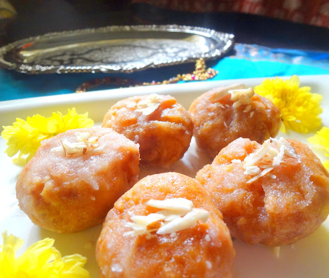 Flaky pastry Badusha a sweet prepared during Diwali mildly sweet and yummy