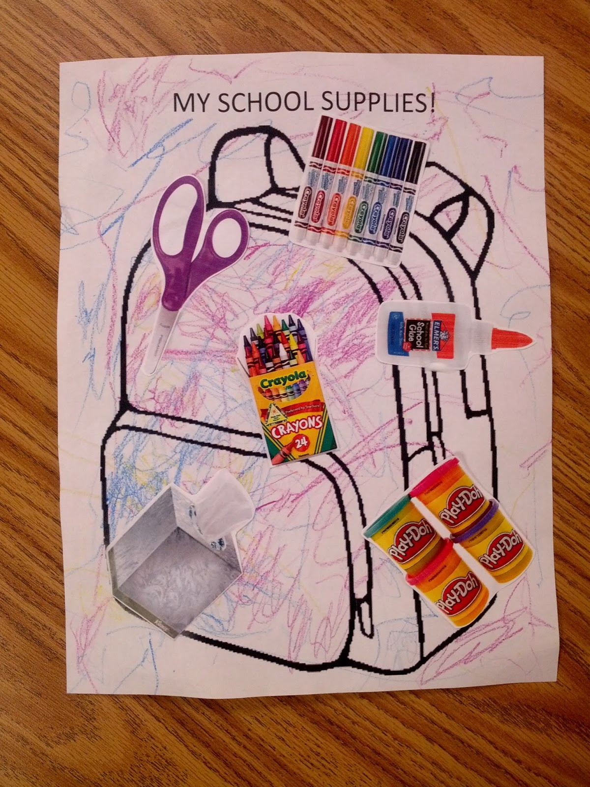 Back To School Themed Art Projects For Preschoolers