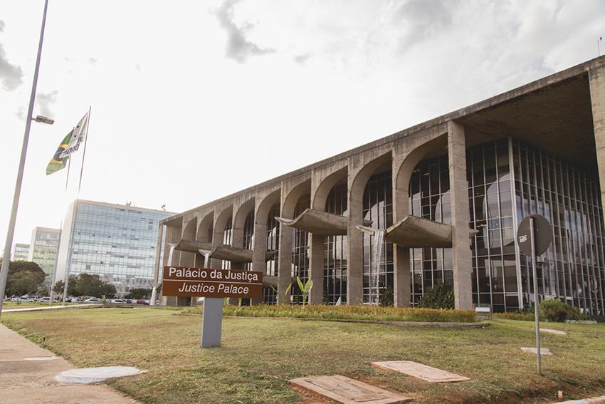 palácio da justiça de Brasilia