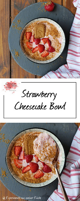 Strawberry Cheesecake Bowl | Rezept | Dessert | Essen | Frühstück | Weight Watchers