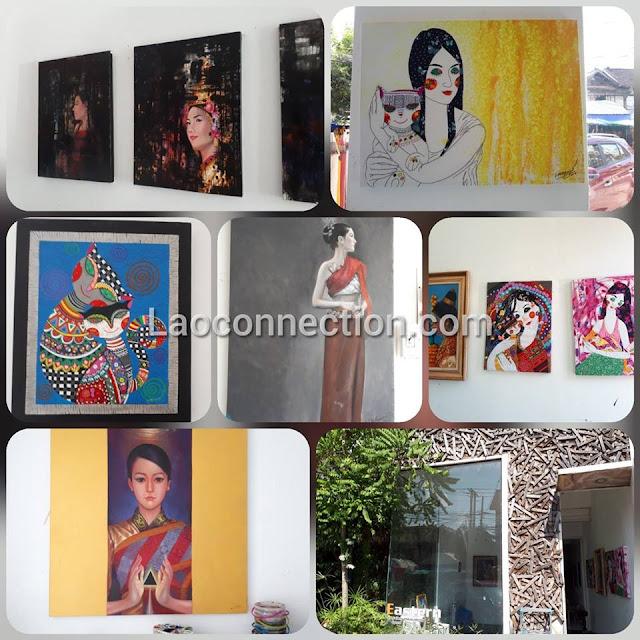 Eastern Art Gallery and Art School, Vientiane, Laos
