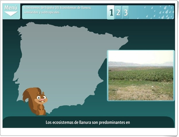 """""""Los ecosistemas de España"""" (Ciencias Naturales de Primaria)"""