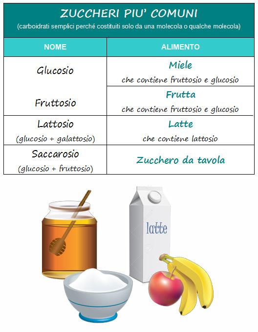 I carboidrati semplici (zuccheri) comprendono- monosaccaridi  ne fanno  parte il glucosio 468e41ce507e