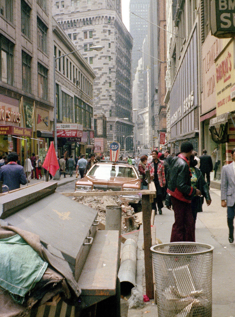 Street Scenes Of New York City In The 1970s