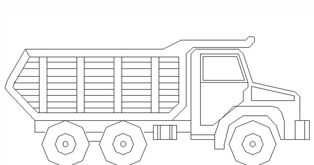 Gambar Mewarnai Mobil Truk Pictures