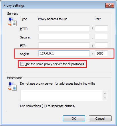 Cuong's Technical Notes: SOCKS Proxy over SSH with OpenSSH
