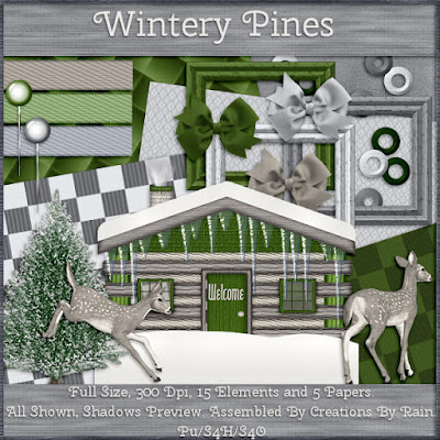 Wintery Pines W4E January 2019 Blog Train