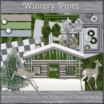 Wintery Pines W4E January 2019 Blog Train