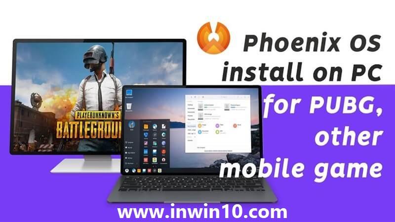 تشغيل لعبة PUBG على نظام phoenix os