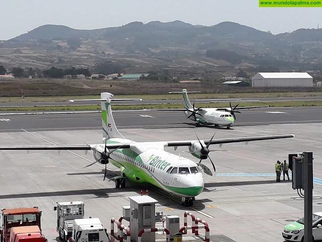Las medidas de restricción impulsadas por el Gobierno de Canarias reducen a un 5% la movilidad aérea entre islas