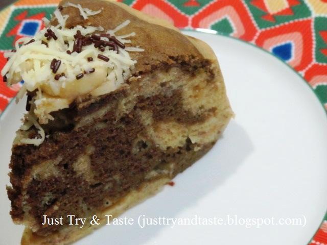 Resep Cake Kukus Lumer: Resep Cake Kukus Pisang Coklat Keju