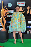 Isha Talwar in Transparent Cute Small mni dress at IIFA Utsavam Awards 2017  Day 2    HD Exclusive Pics 13.JPG