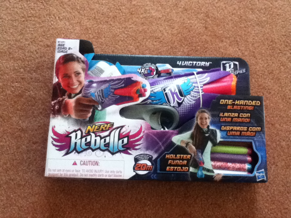 What Time Does Outback Open >> Outback Nerf: Review: Nerf Rebelle 4Victory (20m Aus grey trigger)