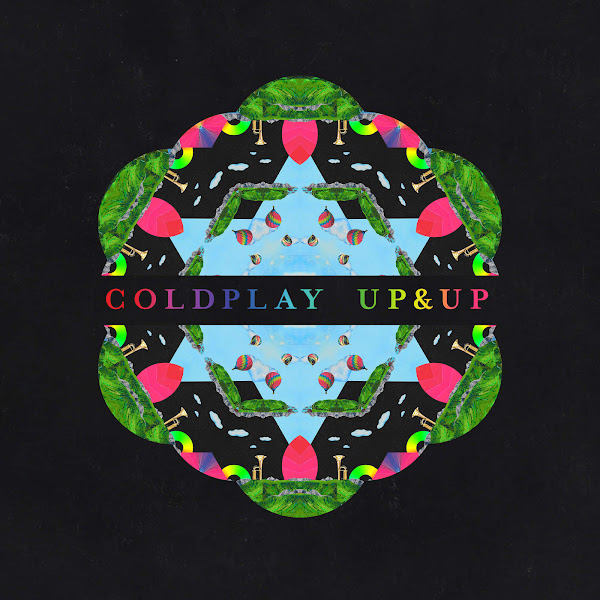 Coldplay - Up&Up (Radio Edit) - Single Cover