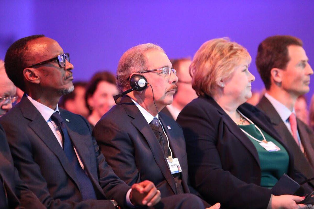 En Davos, Danilo Medina participa en Plenaria de Apertura 48 Reunión Anual Foro Económico Mundial