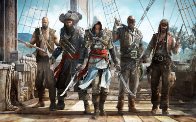 Assassin's Creed Black Flag Pirates - Fond d'écran en Quad HD 1440p