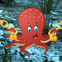 BigEscapeGames Big Underwater Octopus Escape