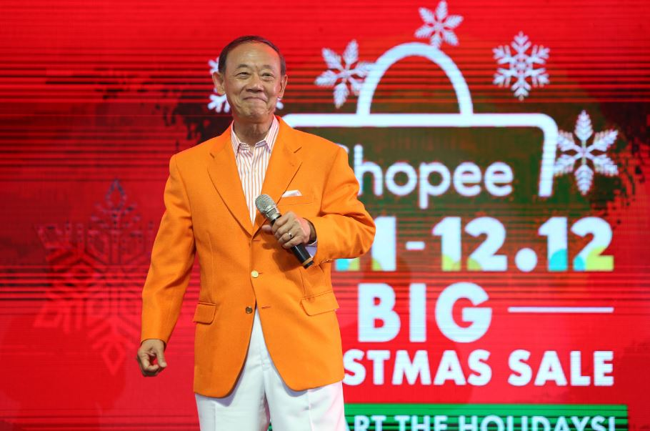Jose Mari Chan is Shopee's Christmas brand ambassador