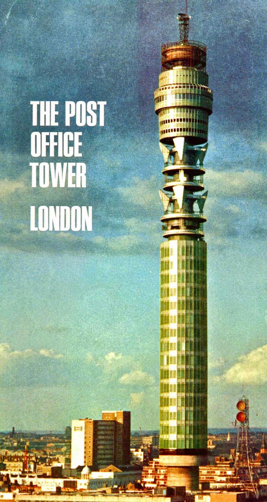 Picture of Post Office Tower in 1965 (Now BT Tower) [[slnc 1000]]