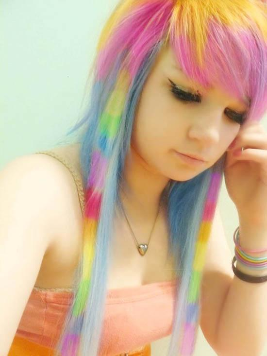 Girls With Rainbow Colored Hair ! | Masti Time