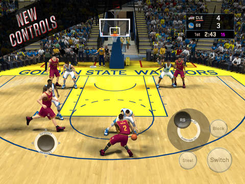 Download NBA 2K16 IPA For iOS