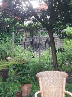 Gartenkronleuchter