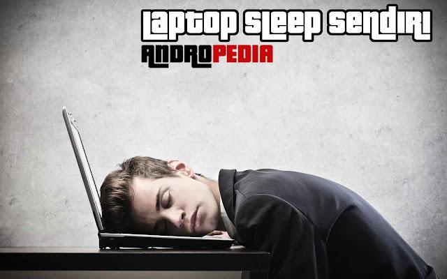 laptop sleep sendiri