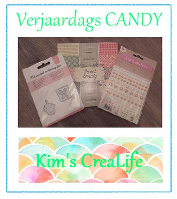 Kim's verjaardagscandy