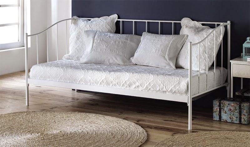 Cama sofa de forja