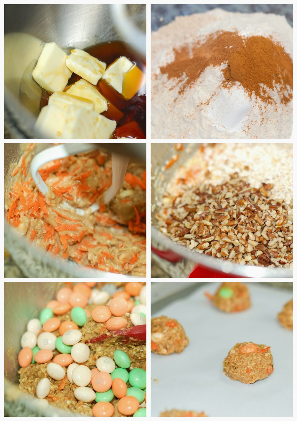 Maple Carrot Oatmeal Cookies @www.thesweetchick.com