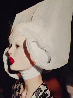 Alexander McQueen's Horn of Plenty Fashion Show photo by Nick Waplington